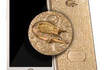 CAVIAR - Золотые iPhone ручной работы / Интернет-бутик эксклюзивных телефонов ручной работы итальянского бренда Caviar предлагает купить золотой iPhone (Айфон) 6S. Здесь Вы найдете модель, которая подойдет именно Вам!