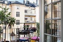 Kleine balkons