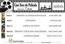 Cine Foro de Película / Programación mensual de las actividades del cineclub de la Casa de la Cultura de Paulo VI segundo sector. Miércoles 7:00 PM