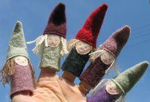 Julpyssel textil
