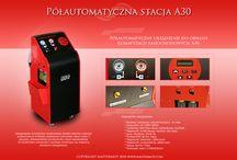 Stacja klimatyzacji samochodowych A30 / Urządzenie do obsługi autoklimatyzacji A30