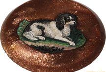 Micro Mosaic. Dog