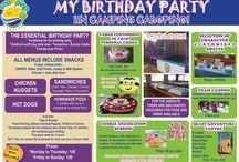 Happy Birthday Partylandia  / Celebra el cumple de los más peques con nosotros!
