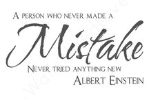 We welcome mistakes