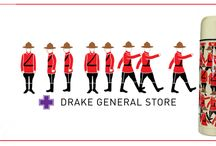 Drake General Store - Now Available at The Mountie Shop / The Drake General Store collection is now available at the Mountie Shop. This collection includes adult and children's onesie, children's pajama, thermos, tuque, and much more.   Visit us online to find out more: http://www.themountieshop.ca/category/SOONTMS.html