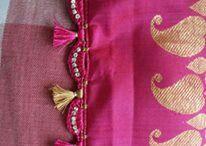 saree tassels / by Sunita Pandit