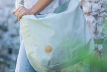 FASHIONABLE LEATHER DIAPER BAG