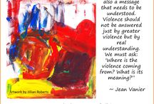 Bullying Awareness / Listen to the daily podcasts that L'Arche founder, Jean Vanier, recorded for Bullying Awareness Week and see more educational resources at:  http://www.larchetoronto.org/bullying