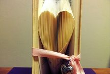 folded book and recycled paper tutorials