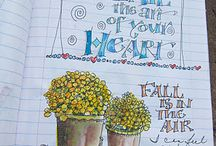 ...Journal-Composition... / Making journals from composition notebooks / by Janet S