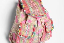 backpacks + purses / by Melissa Tibbals-Gribbin