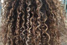 lockiges Haar