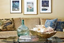 CoffeeTable Decorating Ideas / Coffee Table decorating can add a unique touch to any design.  Here are a few ideas