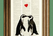 Penguins / My favorite animal! / by Wendy Raymond