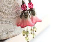 Колокольчики в украшениях bells jewelry / Украшения из фурнитуры в виде цветка колокольчика