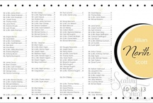 Yellow Wedding Seating Charts / Yellow Wedding Seating Boards are also available in 23 other colors. All our wedding seating boards are available with mounting or framing. Fast turnaround - most charts arrive in 3-5 business days. / by Seating Chart Boutique