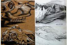 GCSE Art Natural Forms