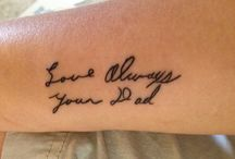 daddy girl tattoo  / by Lindsay Condon