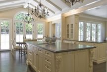 Bright White Kitchens / by The Kitchen Source