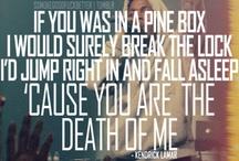 Lyrics / Music & words I love
