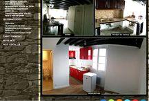 Architecte intérieur / Les petits miracles intérieurs, les avants/après, les projets de décoration, rénovation...