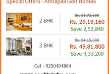 Special Offers  in Amrapali Golf Homes