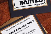 fête à thème Star Wars