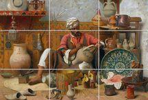 Seramik Duvar Panoları/Mural Tiles (Size Özel Panolar)