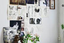Art & graphic wall