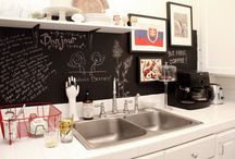 chalkboard paint... / -all things that i think are cool to do with chalkboard paint- / by {daphne} flip flops pearls & wine