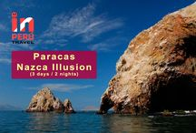 Paracas / Nazca Illusion / Tour: Paracas / Nazca Illusion (3 Days) from USD $ 325. First, the Paracas National Reserve and the Ballestas Islands. And secondly, the mysterious Nazca Lines