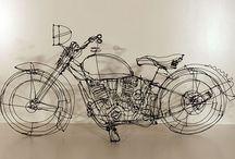 szkice z drutu