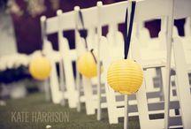 Wedding Chair Decor / by Love & Lavender | Wedding Blog