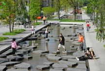 water in public spaces