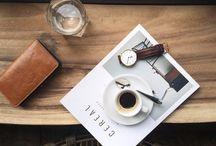 Coffee Table Flatlay