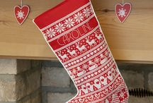 Christmas stockings  x-stitch