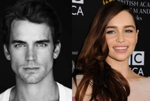 50 / Before they officially cast Dakota Johnson and Jamie Dornan... I used to like Matt Bomer and Emilia Clarke but I love the official cast anyway ❤️ / by Meggie Arevalo