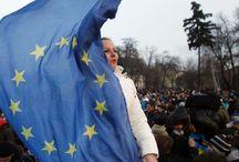 Ukraina 2014 - tapahtumat kuvina / Digitaalinen viestintä ja media -kurssin lopputyö, Aalto yliopisto kevät 2014