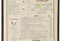 Work: menus