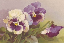 Vintage Floral Images / by Vera Louise Riddle