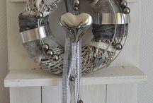 grau weiß dekoration