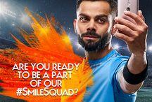 Gionee #SmileSquad with Virat Kohli