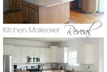 Kitchen makeover / by Penny Clack