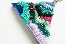 Brodera Smycken / Embroidery Jewlery