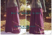 Pantalones Fieltradora / Fieltro en 100% cotton