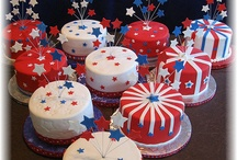 4th of July Cakes/Cupcakes