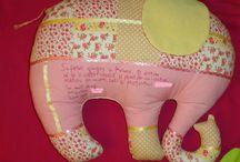 Mine -deco pillow elephant