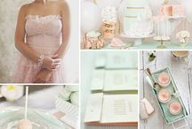 Blush & Mint  / by Karlene Von Dolling