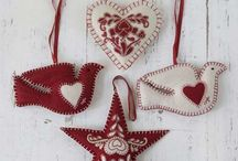 Christmas Inspiration / Christmas! Fabric, crafts, ideas / by Hope's Quilt Designs