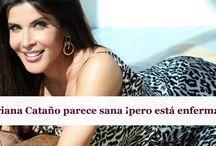 Adriana Cataño parece sana ¡pero está enferma!